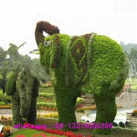 cheap topiaries lxy072403 manufacturer high quality realistic animal