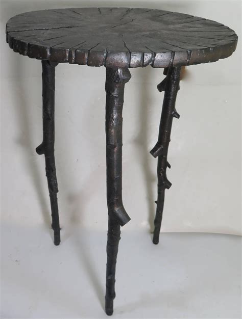 Branch Table by Modern Bronze Tree Branch Side Table At 1stdibs