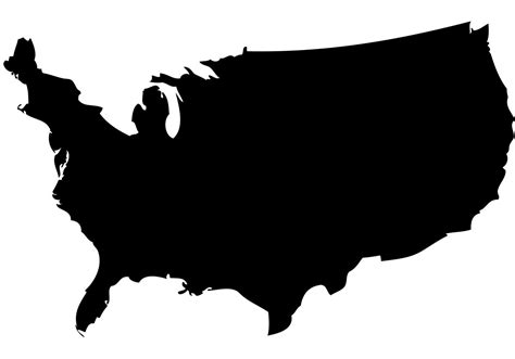 vector map of the us best us map vector cdr 187 free vector images graphics