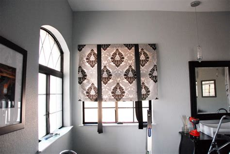 no sew tie up curtains hometalk no sew tie up shades