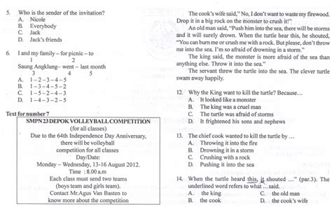 Mtk Kls 1 Smp Facil berkas soal ukk matematika kelas vii smp semester 2 ktsp