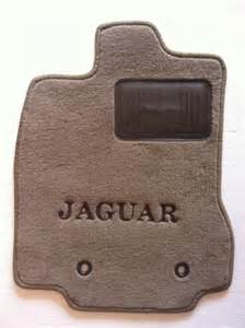 Jaguar Floor Mats X Type Jaguar X Type 4pc Custom Beige Floor Mats Oem Spec W