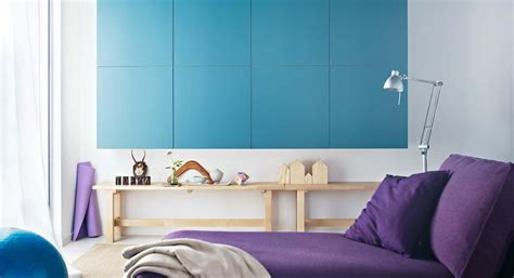 ikea purple bedroom purple blue white lounge furniture interior design ideas