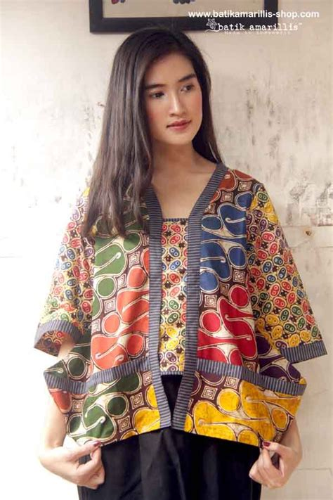 design blazer batik modern 17 best images about indonesia batik on pinterest