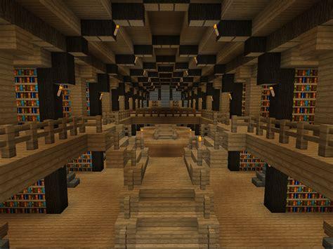 library minecraft houses minecraft blueprints minecraft