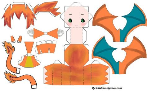 the gallery for gt papercraft charizard