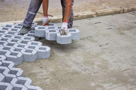 Paver Patio Gravel Base Latticework Concrete Pavers Backyard Makeovers