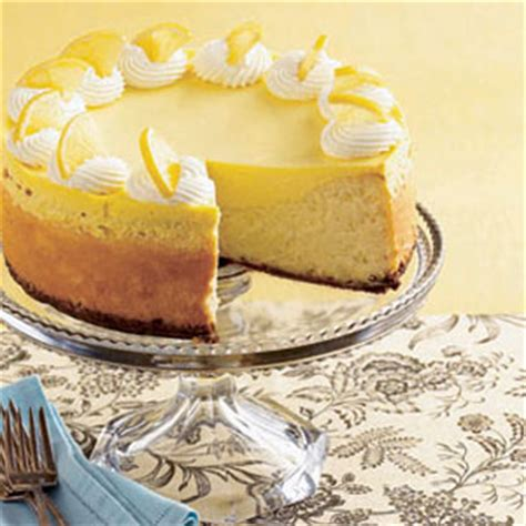 Lemon Cheesecake Decoration by Cheesecake Recipes Lemon Cheesecake Recipe At Womansday