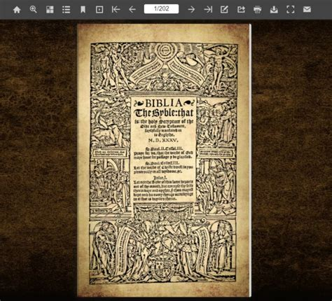 coverdale bible   complete english bible