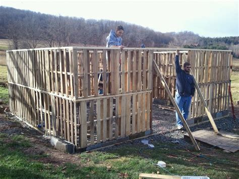 how to build a barn house pallet barn update almost finished daily hike