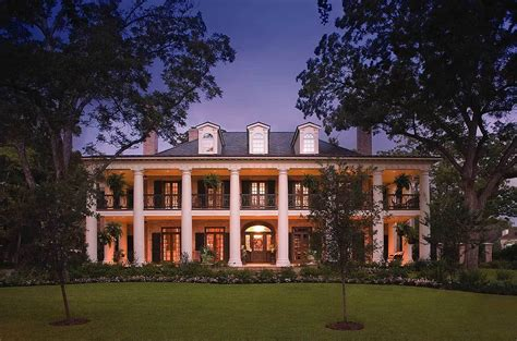 plantation style plantation house plans architectural designs