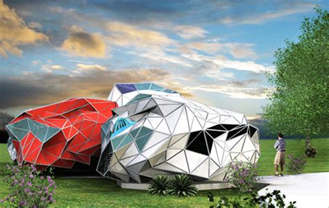 amazing low cost off grid lifehaus homes are made from adex futuristic prefab for modular off grid living