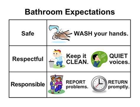 Bathroom Etiquette At School Programs Pbis
