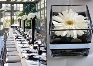 46 cool black and white wedding centerpieces happywedd com