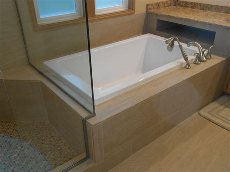 bathtub deck bathroom remodel issaquah done to spec done to spec