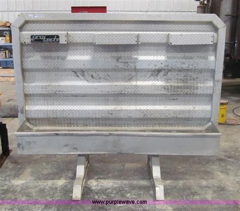 pro tech aluminum headache rack no reserve auction on