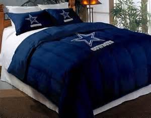 wonderful Dallas Cowboys Bedroom Set #3: 1.Dallas-Cowboys.Comforter-Bed-0001.jpg