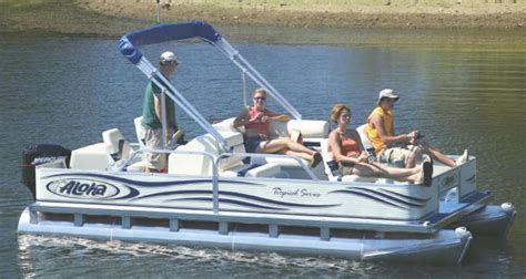 aloha pontoon research aloha pontoon boats ts 180 fish n party pontoon