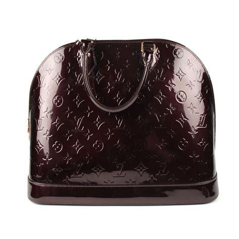 Prada Alma Uk 25x22cm 1 louis vuitton top handle alma black patent leather ref a35952 instant luxe