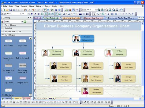 organisation chart creator matrix organizational chart template powerpoint