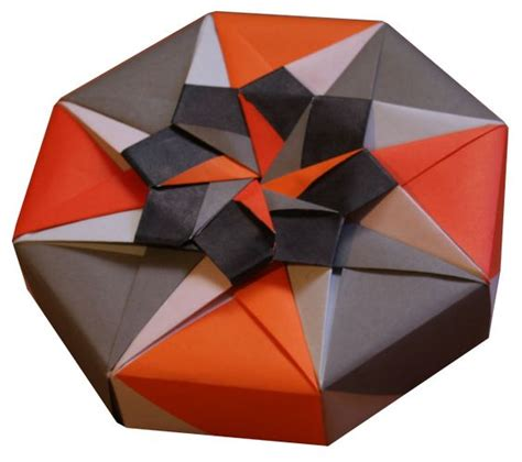 Origami Construction - origami constructions origami octagonal box folding