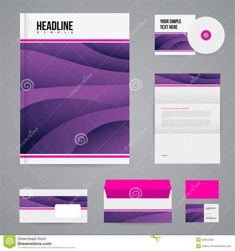 Branding Design Template Branding Design Template Stock Illustration Image 53612264