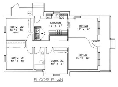 concrete block floor plans small concrete homes plans house design ideas