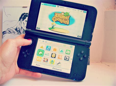 animal crossing 3ds console j ai craqu 233 pour la nintendo 3ds mat m le
