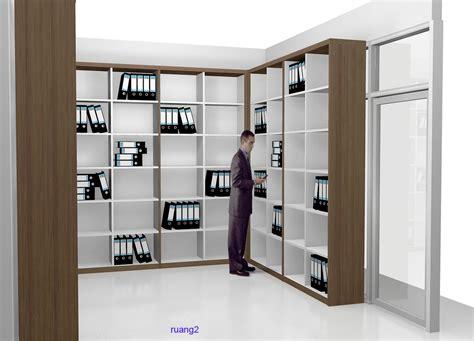 Rak Filing rak file ruang arsip ruang pimpinan produksi