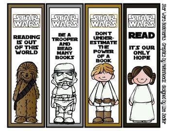 printable bookmarks star wars star wars inspired bookmarks melonheadz graphics 8