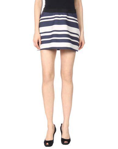 Neil Barrett Mini Skirt neil barrett mini skirt in blue modesens