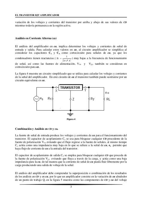transistor bjt ganancia transistor bjt en corriente alterna 28 images bjt parte 04 ganancia en corriente directa el
