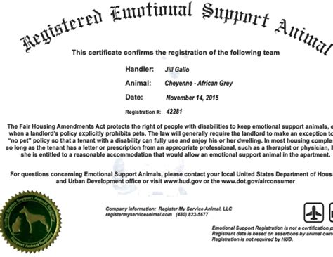 Letter For Emotional Support Animal On Airline Emotional Support Or Service Animals Fair Housing Amendments Act