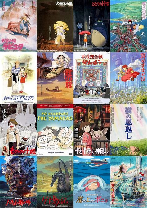 studio ghibli movies all the studio ghibli movies released in order castle in