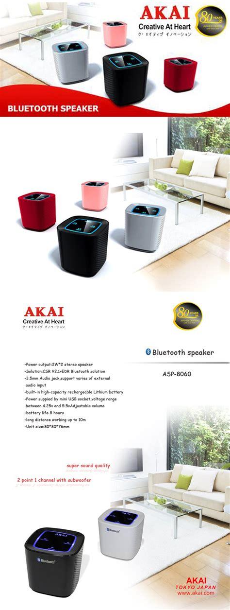 Promo Promo Promo Converter Akay Stereo To Mini Stereo 3 5 M buy akai loud and clear sound akai bluetooth wireless