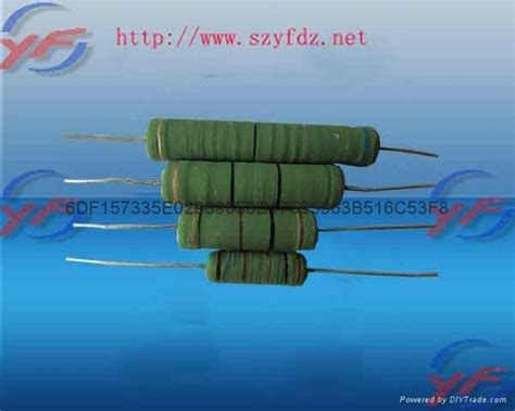 wire wound resistor diy yingfa ul vde 1watt wire wound fusible resistor rxf fr 1w yf china manufacturer resistor