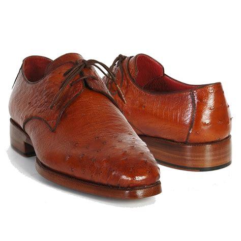 paul parkman shoes paul parkman ostrich quill derby shoes tobacco