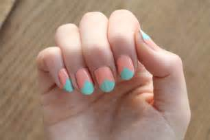 gallery for gt easy two color nail designs