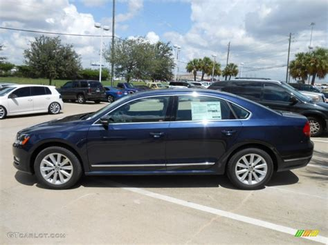 blue volkswagen passat night blue metallic 2013 volkswagen passat 2 5l sel