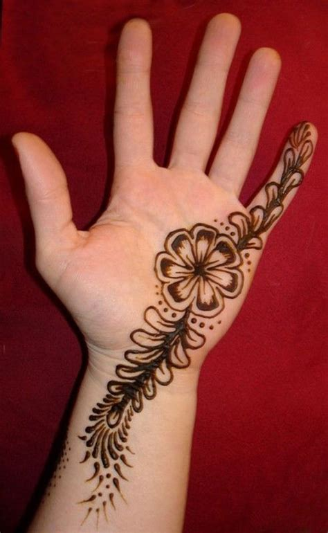 henna design creation 30 simple easy henna flower designs of all time keep