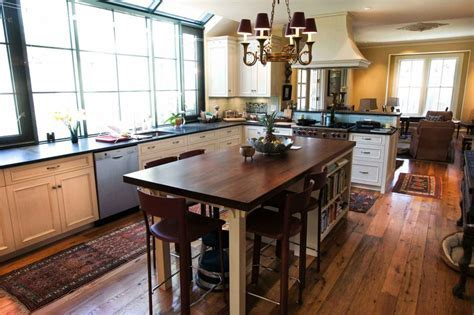 Furniture: Kitchen Islands With Seating For Wooden Dining