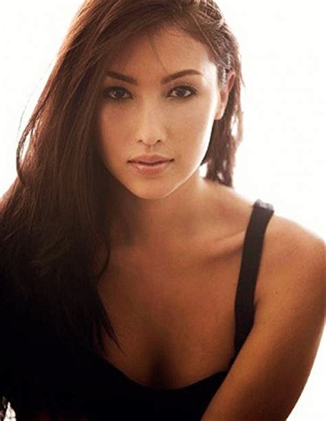 filipina celebrity hair color filipina and french beauty solenn heusaff long hair