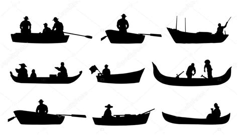 boat clipart silhouette on boat silhouettes stock vector 169 yyanng 60125049
