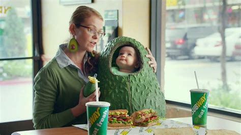 subway commercial actress guacamole subway turkey and bacon avocado tv spot avocado love