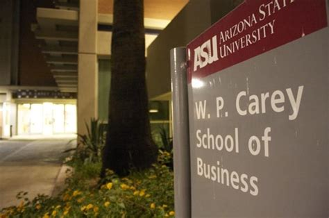 Asu Mba Gmat Average by Arizona State S W P Carey School Of Business