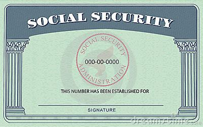 free blank social security card template pdf social security card royalty free stock image image