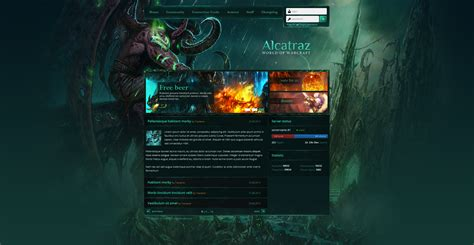 game website layout game webdesign graphic design forum
