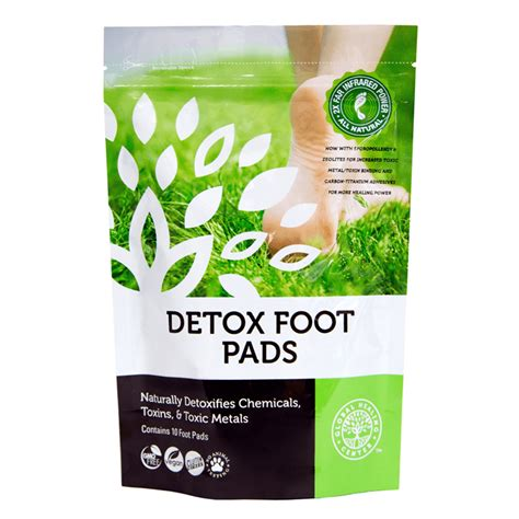 Home Recipe For Detox Foot Pads by Dr S Chemical And Toxic Metal Cleanse Kit
