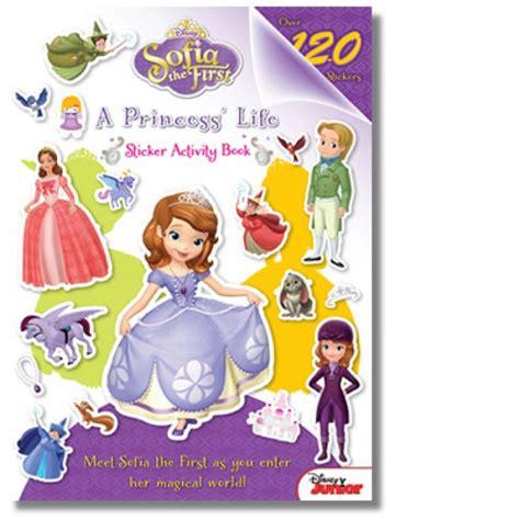 Sofia The First A Princess S Life Sticker Activity Book Princess Sofia Books