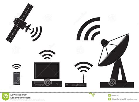 Wireless Engineering by Wireless Stock Vector Image 50676285